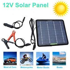 18-Volt 5-Watt Portable Solar Panel Power Battery Charger Backup for Car Boat Automobile