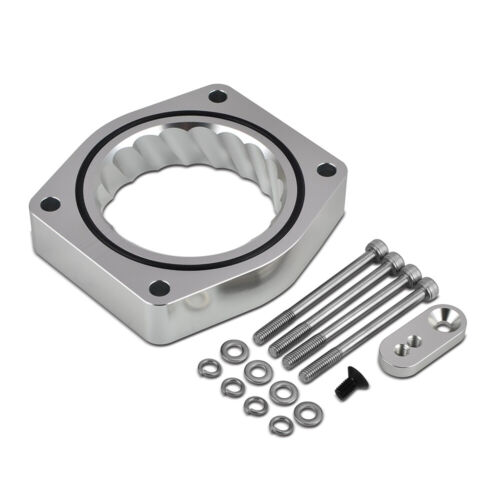 NiceCNC Throttle Body Spacer Fits Cadillac Escalade 6.2L 07-12 Billet Aluminum