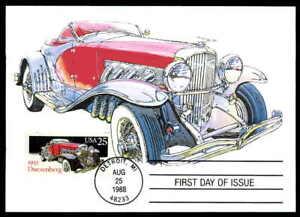 Details Zu Usa Mk Auto Oldtimer Classic Cars Duesenberg Maximumkarte Maxi Card Mc Cm Aa86