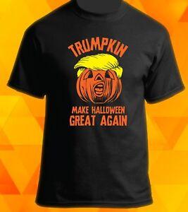 c536b98ab Trumpkin - Make Halloween Great Again T-Shirt - Funny Donald Trump ...