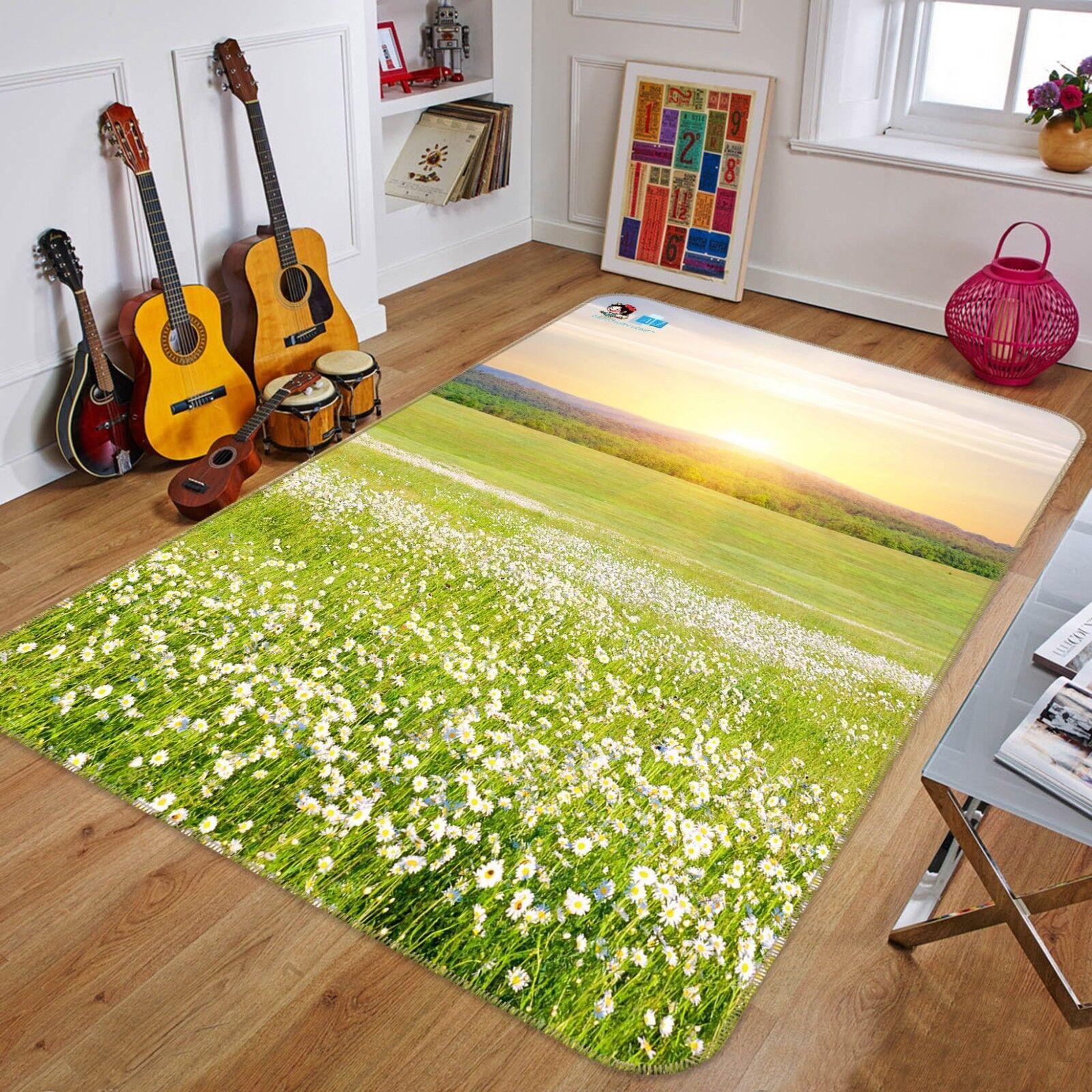 3D Sonniges Feld 68 Rutschfest Teppich Matte Raum Matte Elegant Elegant Elegant Teppich DE Carly ee1236