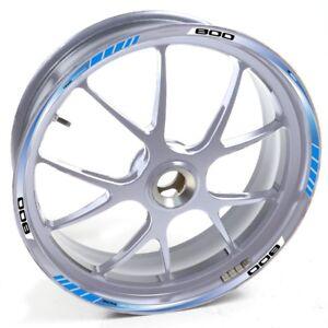 ESES-Pegatina-llanta-BMW-plata-F-800-ST-800ST-Azul-adhesivo-cintas-vinilo