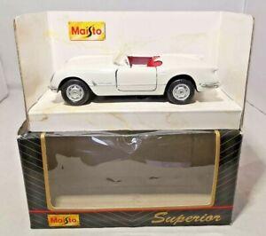 Maisto-Diecast-superior-Motorizada-Chevrolet-Corvette-21001