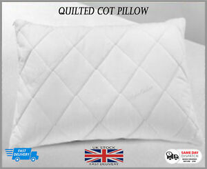 Anti-Allergy-Quilted-Cot-Pillow-Baby-Comfort-Nursery-Junior-Bed-Toddler-Bedding