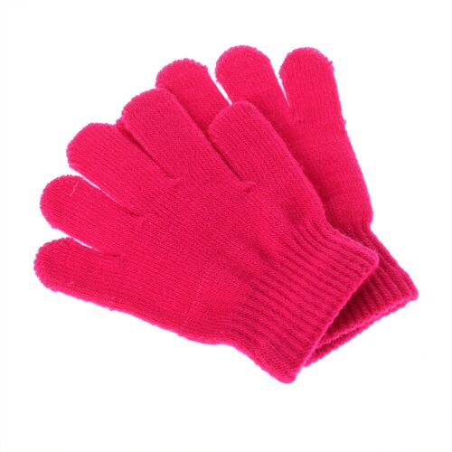 Kids Magic Gloves Mittens Kid Stretchy Knitted Winter Warm Gloves for Girl Boy