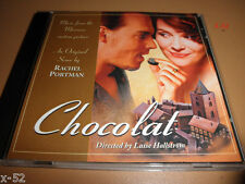 CHOCOLAT soundtrack CD promo RACHEL PORTMAN cd-r johnny depp juliette binoche