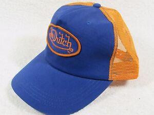 97805134812 GENUINE Von Dutch Mesh Trucker Biker Snapback Hat Cap Adjustable ...