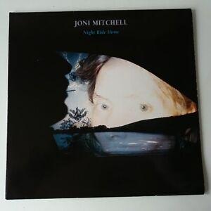 Joni-Mitchell-Night-Ride-Home-Vinyle-LP-Rare-Europe-1st-Press-Inner-Ex