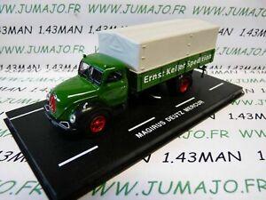 MAGIRUS DEUTZ Mercur DDR9 camion 1//72 test Allemagne 2010 LKW