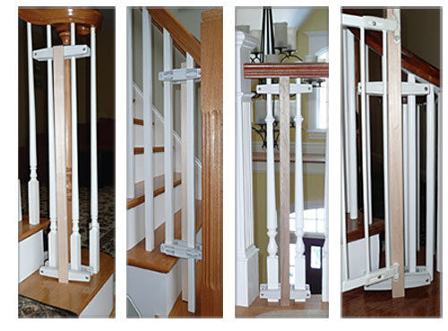 Safety Innovations Baluster Baby Safety Gate Mounting Kit Item # 33554