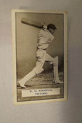 1926 - Vintage - Gallahers Cricket Card - W.M. Woodfull - Victoria.