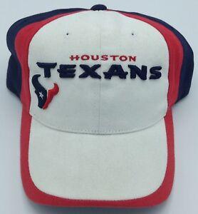 3e2a4de5 Details about NFL Houston Texans Adult Adjustable Curved Brim Cap NEW SEE  DESCRIPTION