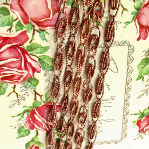 Sarah Coventry,copper coated steel Bracelets,Jewelry Maker G41 Starter Bracelets STARTER LOT 10 Vintage Charm Chain Bracelet Lot