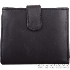 Mens-Gents-Leather-RFID-Bi-Fold-Money-Coin-Credit-Card-Holder-Wallet