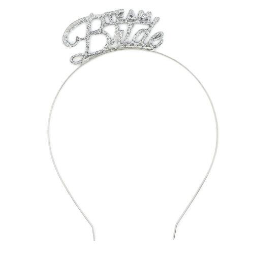 Team Bride Bridesmaid Headband Bride To Be Tiara Crown Hen Party Wedding Favo NS
