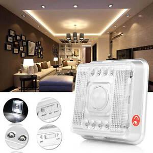 led nachtlicht mit pir bewegungsmelder 8 led nachtlampe nachtleuchte batterie ebay. Black Bedroom Furniture Sets. Home Design Ideas