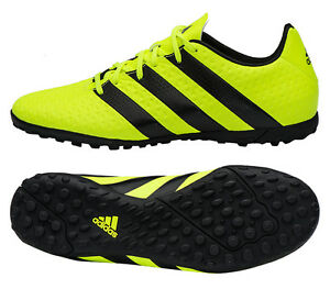 wholesale dealer 9ca8c 39993 Image is loading Adidas-ACE-16-4-TF-S31976-Turf-Shoes-