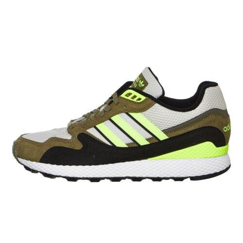 Adidas-Ultra Tech RAW BLANC / Baskets jaunes brutes / kaki brutes bd7937