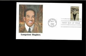 2002-First-day-Cover-Langston-Hughes-New-York-NY