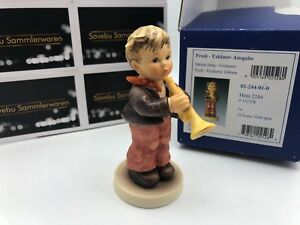 Hummel-Figurine-2244-Fredi-3-7-8in-1-Choice-With-Top-Zustand
