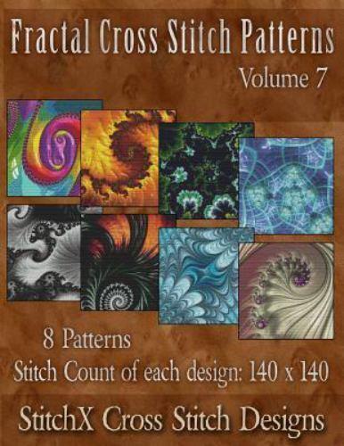 Fractal Cross Stitch Patterns, Paperback by Warrington, Trac