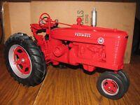 Ih Farmall Mccormick M Tractor 1/8 Scale Models Toy 1995 Farm Progress Show Huge