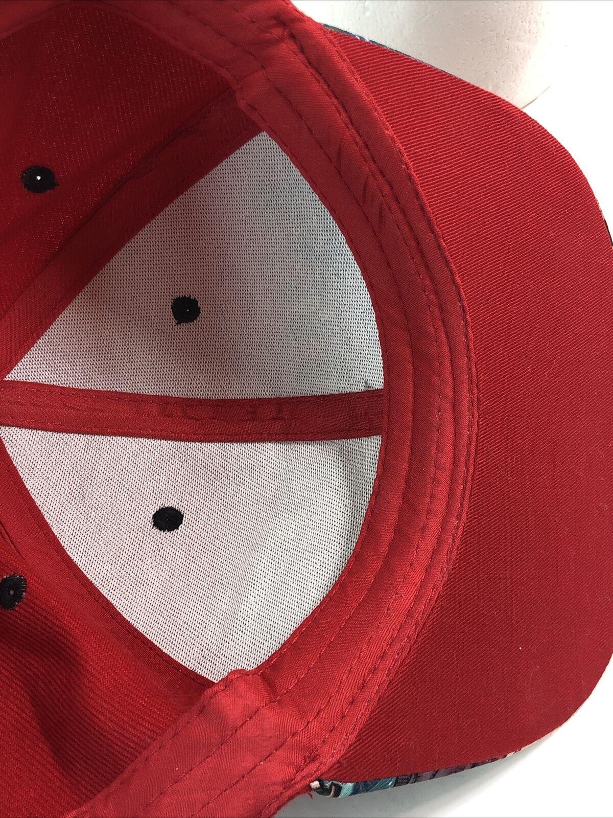 Harley Quinn Snapback Hat Cap Red - image 9