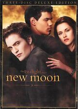 The Twilight Saga ~ New Moon ~ 3-Disc DeLuxe Edition DVD + Collectible Film Cell