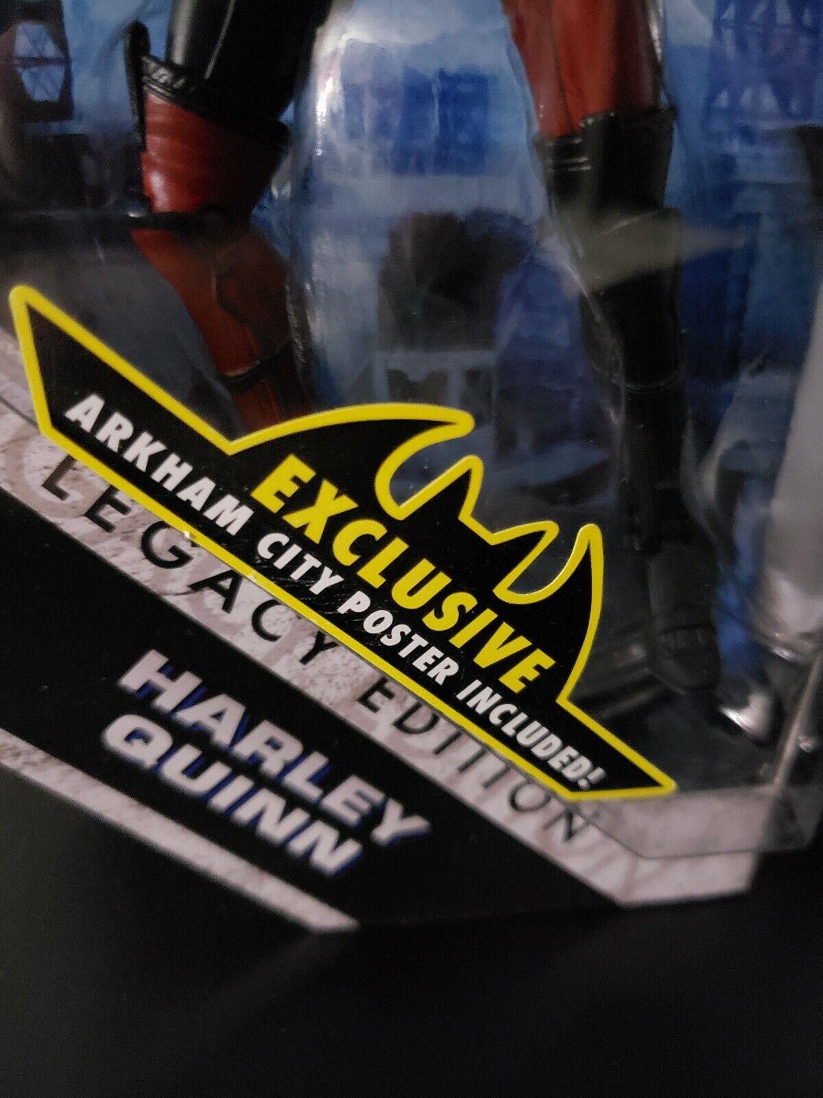 DC Universe Batman Arkham City Legacy Edition Harley Quinn 6 6 6  Figure NEW MOC ea96fb