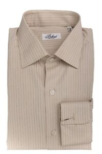 BELVEST-by-Finamore-Napoli-Shirt-Cotton-ALUMO-Striped-French-Cuff-15-1-2-39-Reg
