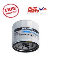Quicksilver Mercury Oil Filter Many Mercruiser V6 Inboard Models 866340q03