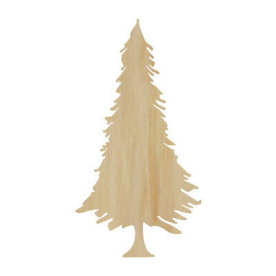 Christmas Tree Cut Out.Pine Tree Cut Out Wood Shape Craft Supply Wood Craft Pine Tree Cutout Conifer Ebay