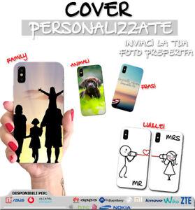 Cover iPhone X flip sportellino personalizzata solo Fronte ecopelle