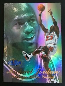 1997-98 Flair Showcase Row 3 1 Michael Jordan
