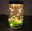 Handmade Child Mason Jar Fairy Lights Night Light Table Decor Spring//Animal