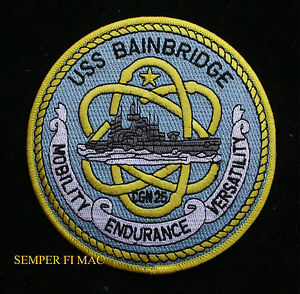 USS-BAINBRIDGE-CGN-25-PATCH-US-NAVY-PIN-UP-GIFT-GUIDED-MISSILE-CRUISER-DLGN-WOW