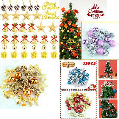 32pcs Christmas Xmas Tree Balls Baubles Hanging Ornament Home Party Decor US