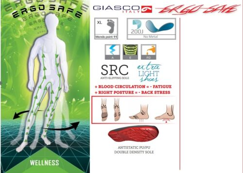 Giasco Soccer S3 ESD Safety Loafer Work Boot Berufsschuh Handcraft Job