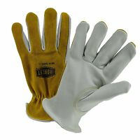 Westchester 9414 Ironcat® Split Back Cowhide Leather Drivers Style Gloves, S-3x