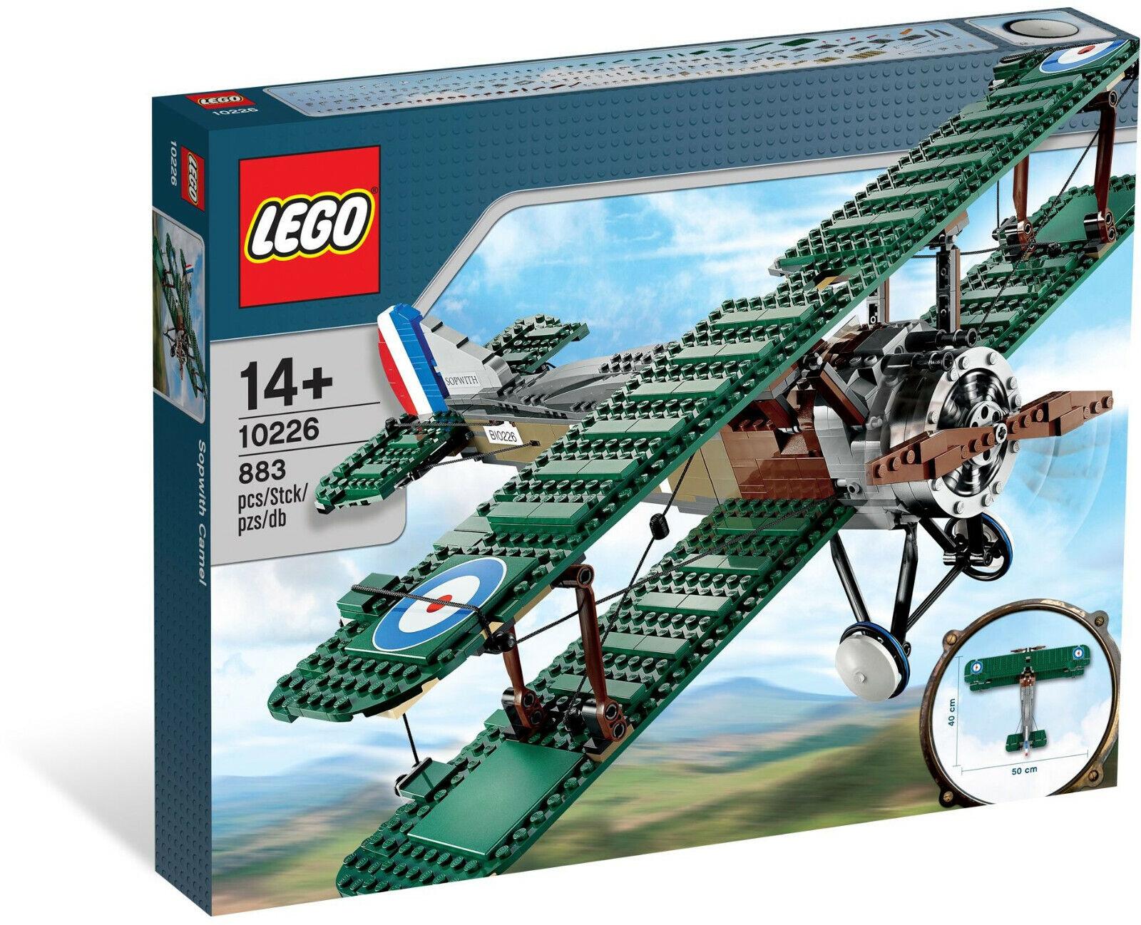 LEGO - SOPWITH CAMEL    10226      RETIrosso     WWI PLANE     BIPLANE    PROPELLER  offrendo il 100%