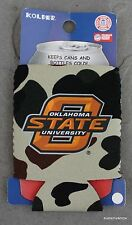 Oklahoma State University Cowboys Bottle Football Koozie NCAA College Licensed