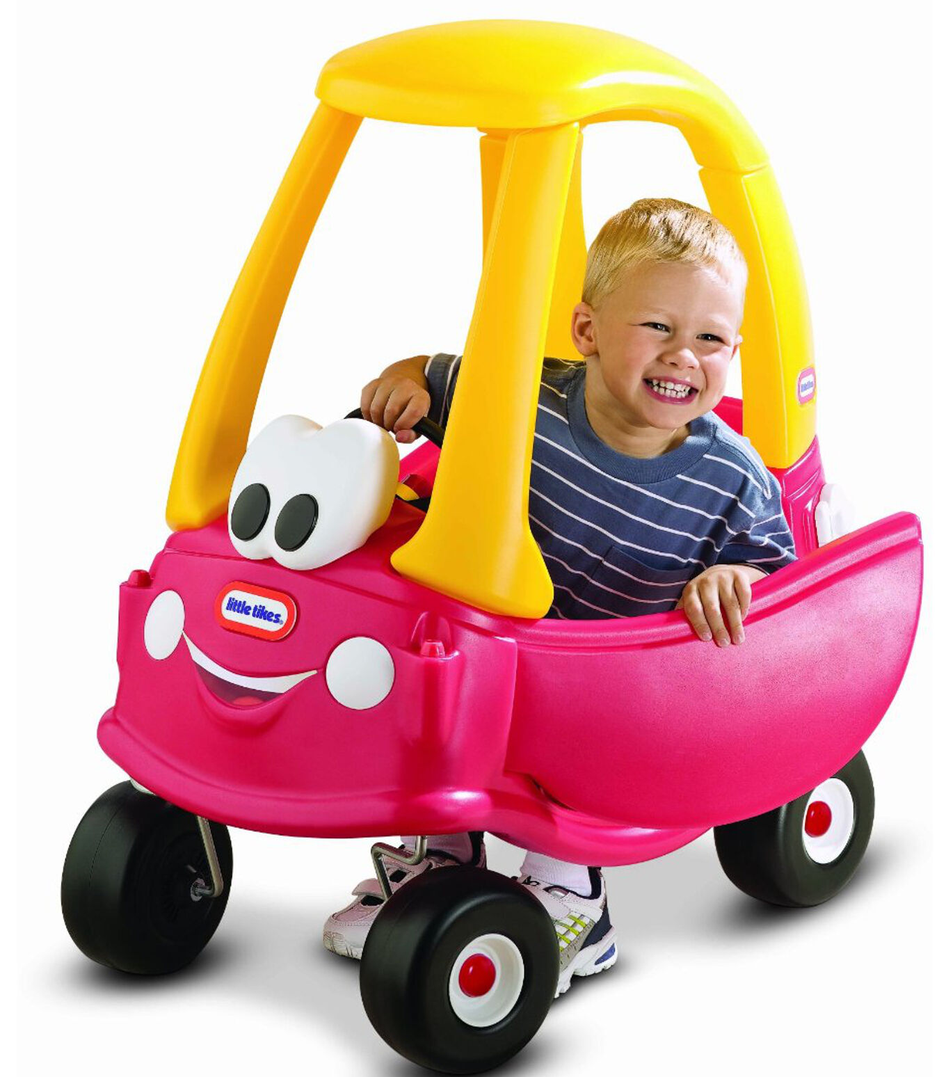 Máquina montar-en niños para impulsar la little tikes con la parte posterior