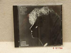 *CD Barbra Streisand's Greatest Hits, Vol. 2 by Barbra Streisand (CD, Oct-1990