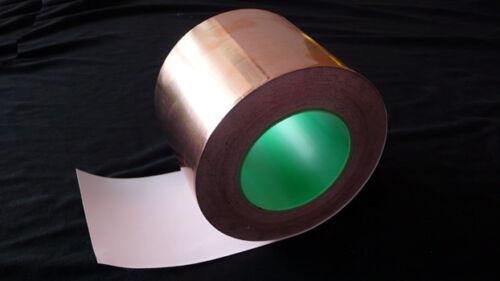 100mm x 5M COPPER Foil EMI double Side Conductive Tape for Guitar Preamp Pedal