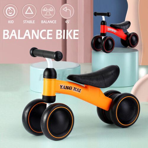 US Kids Balance Bike Training No Pedal Push Tricycle Child Toddler Beginner