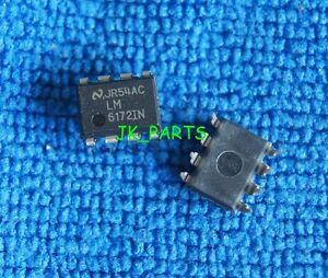 10pcs Original et Neuf LM6172IN LM6172 DIP-8 NSC