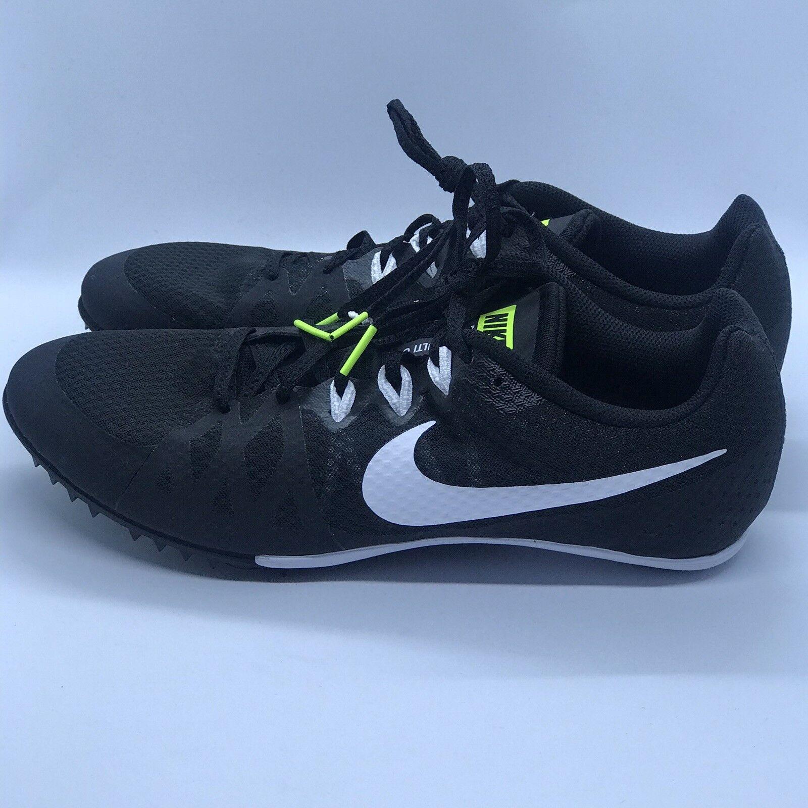 772e8cd1cb430 Nike Zoom Rival M8 Black White 806555-017 Track Field Field Field Spikes  Mens Size