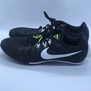 27a68d9bbb5 Nike Zoom Rival M8 Black White 806555-017 Track Field Spikes Mens ...