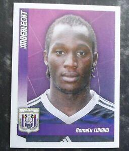 soccer Panini LUKAKU ROMELU youngster Belgium Anderlecht Sticker