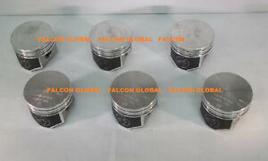 Details about Chevy Corvair 164 Speed Pro TRW Forged Flat Top Coated  Pistons Set/6 1964-69 +40